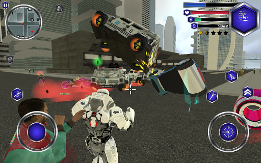 Fly Robot Swat For PC