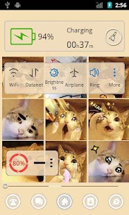 Lovely Cat 91 Launcher Theme - screenshot