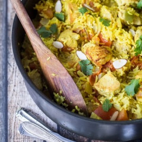 Quick and Easy Chicken Biryani