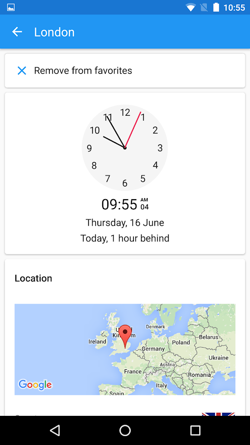 World Clock by timeanddate.com Screenshot 4