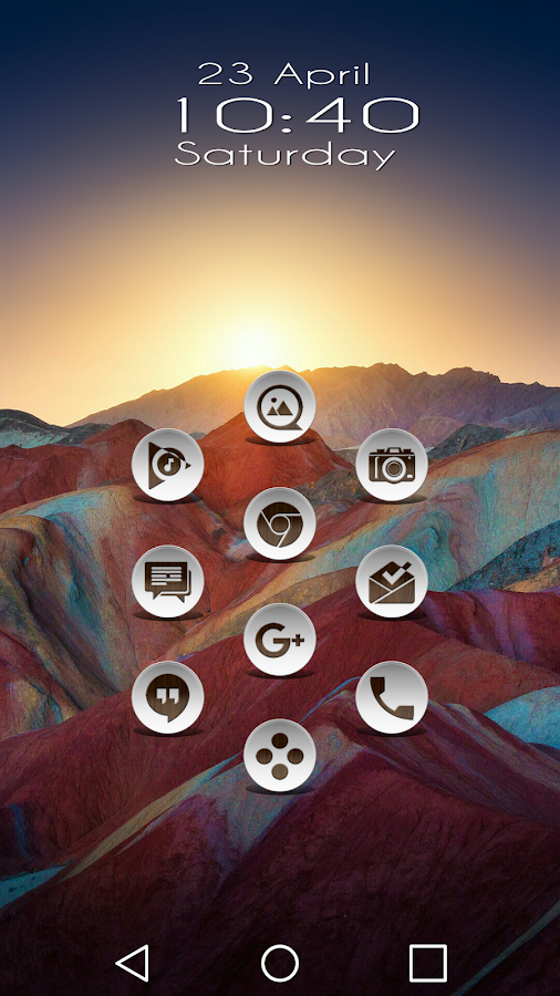 Daf Dark Wood - Icon Pack Screenshot 4