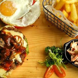 brunch menu by Ign Hadi - Food & Drink Plated Food