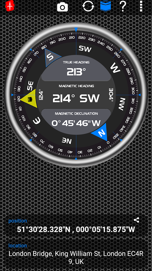 AndroiTS Compass Pro Screenshot 2