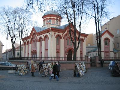 Пятницкая церковь в Вильнюсе