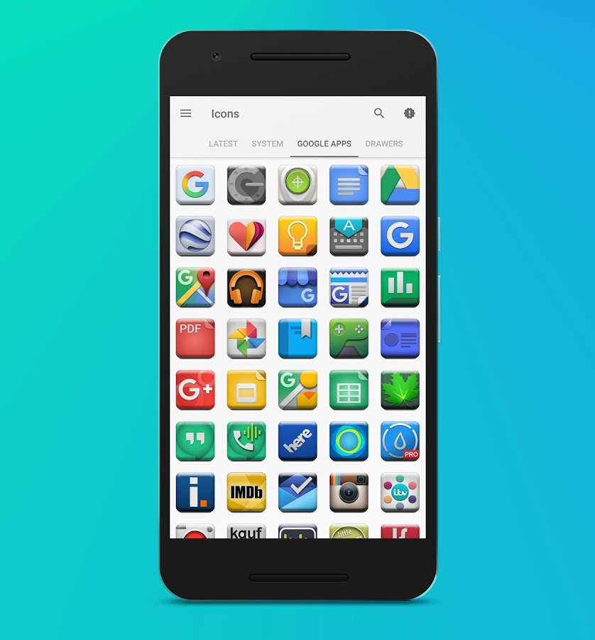 Cubix Icon Pack Screenshot 2
