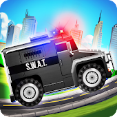 Elite SWAT Car Racing: Army Truck Driving Game APK for Bluestacks