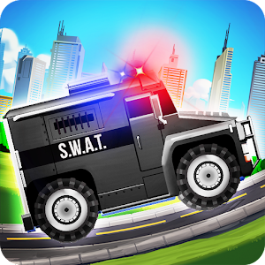 Elite SWAT Car Racing: Army Truck Driving Game Icon