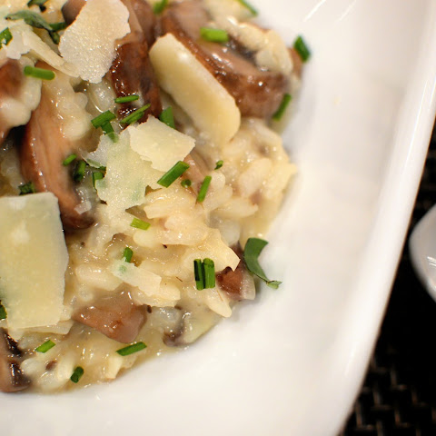 Mushroom Risotto with Fresh Herbs