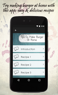Tips To Make Burger At Home - screenshot