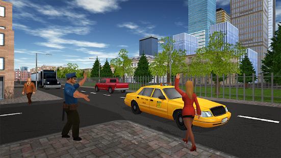 Taxi Game- screenshot thumbnail