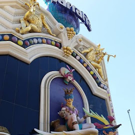 Harrah's in Las Vegas, Nevada by Maricor Bayotas-Brizzi - Buildings & Architecture Other Exteriors