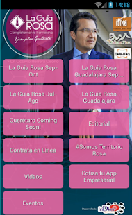 La Guía Rosa - screenshot
