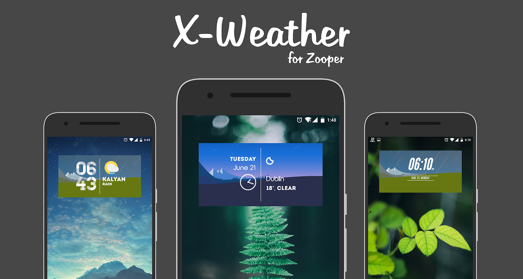 X-Weather Zooper Screenshot