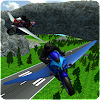 Flying Police Moto Bike SIM