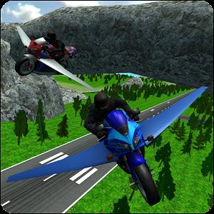 Cover art Flying Police Moto Bike SIM