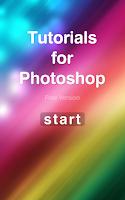 Screenshot of Tutorials for Photoshop CS6