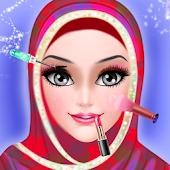 Hijab Wedding Makeover - Salon APK Descargar