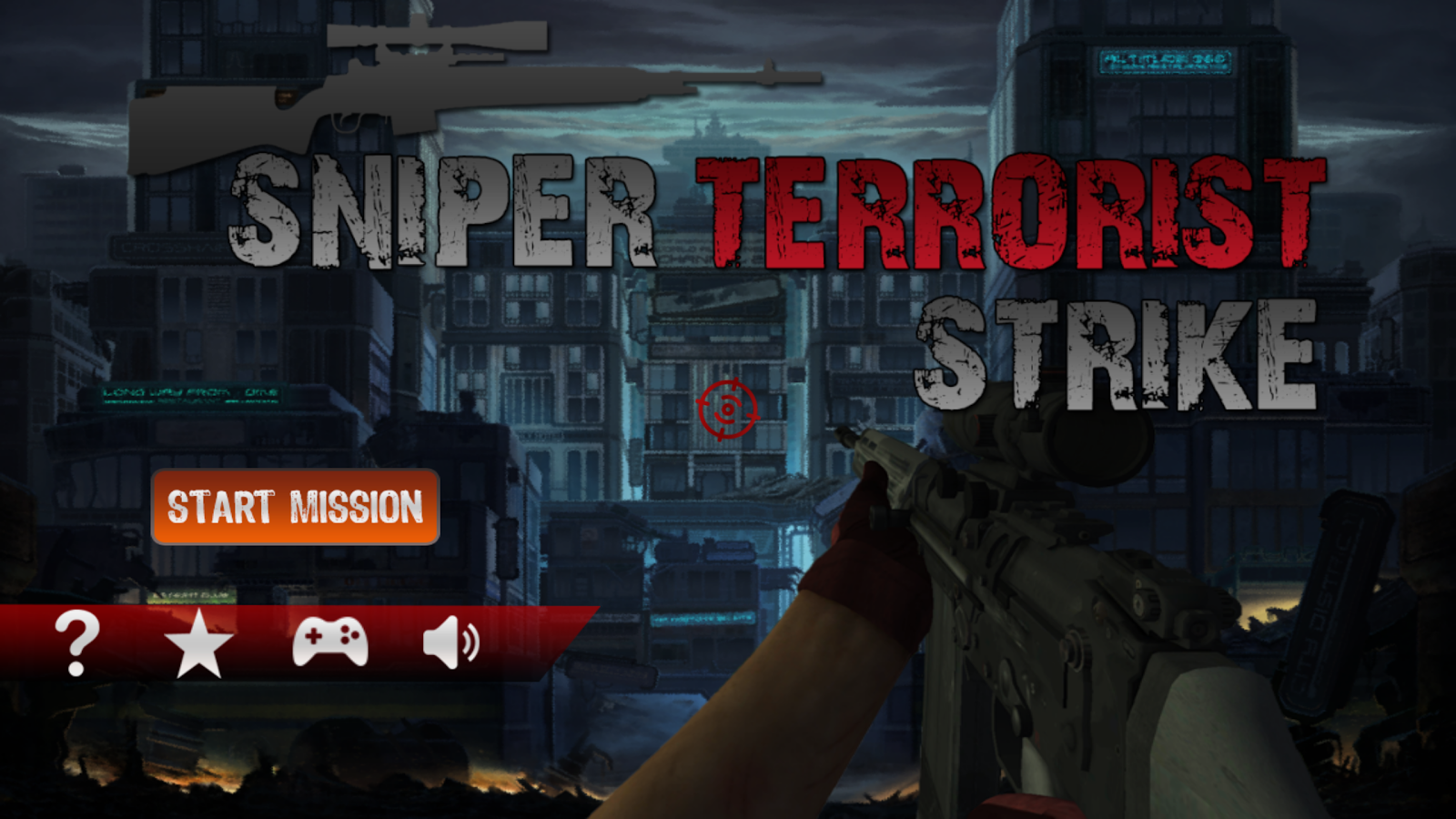 Sniper Terrorist Strike Screenshot 0