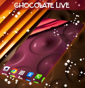 Chocolate Live Wallpaper - screenshot
