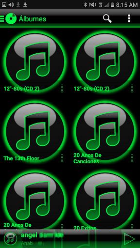 SKIN PLAYERPRO GLOW GREEN - screenshot