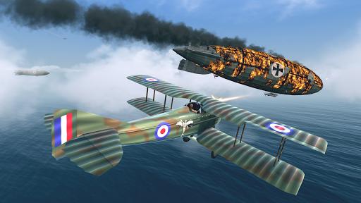 Warplanes: WW1 Sky Aces [Mod] Apk - Không chiến