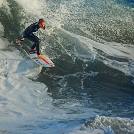 Riding the Wave by Jeannine Jones - Sports & Fitness Surfing