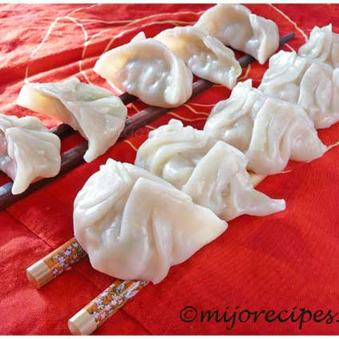 Chinese Dumplings With Chicken