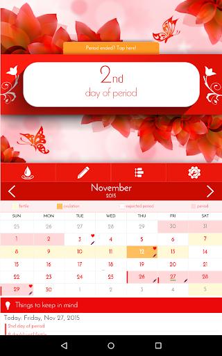 Period Tracker - Woman Diary - screenshot