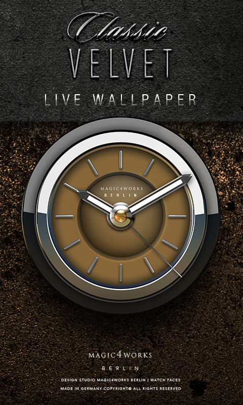 HD Analog Clock Bundle LWP 7 Screenshot 3