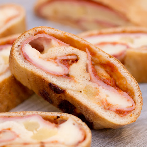 Ham & Pineapple Pizza Rolls