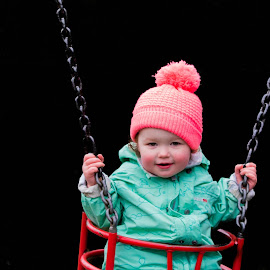 Swinging by Jenny Trigg - Babies & Children Children Candids ( child, playground, park, swing )