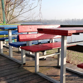 benches and tables by Dubravka Penzić - Artistic Objects Furniture (  )