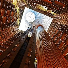 Atrium by Steve Wilking - Buildings & Architecture Office Buildings & Hotels