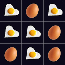 scrambled eggs(tic tac toe)