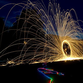 Color trails by George Krieger - Abstract Light Painting