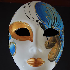 the mask by Carolyn Lawson - Artistic Objects Other Objects