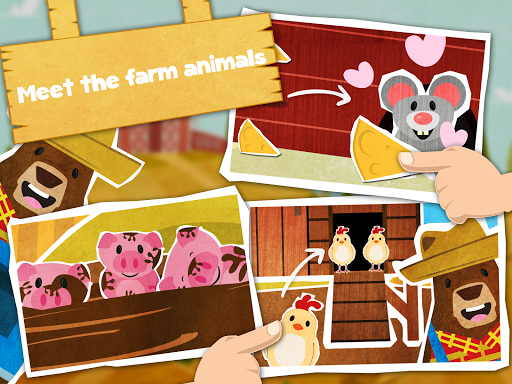 Mr. Bear Farm Animals Pro - screenshot