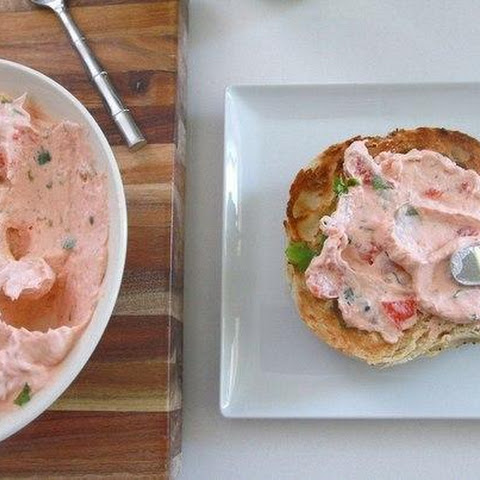 CREAM CHEESE WITH SMOKED SALMON