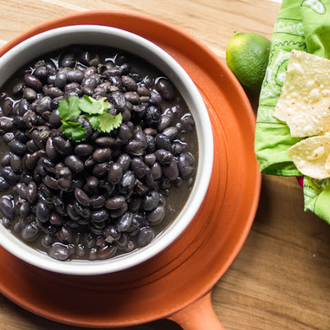 Healthy Black Beans from Scratch
