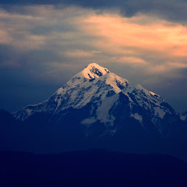 Trisul - The Himalayan Peak by Santanu Maity - Landscapes Mountains & Hills ( himalaya, mountain, trisul, nature, landscape )