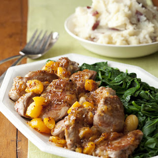 Pork Tenderloin with Apricots