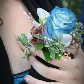 Flowers by Kaylana Fief - Wedding Other ( blue flower )