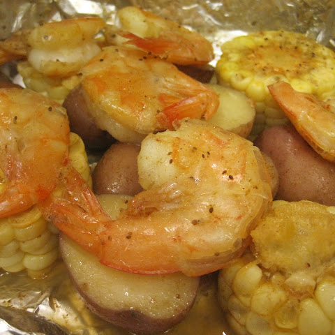 Shrimp Boil Foil Packet