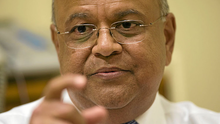 New Finance Minister Pravin Gordhan. REUTERS