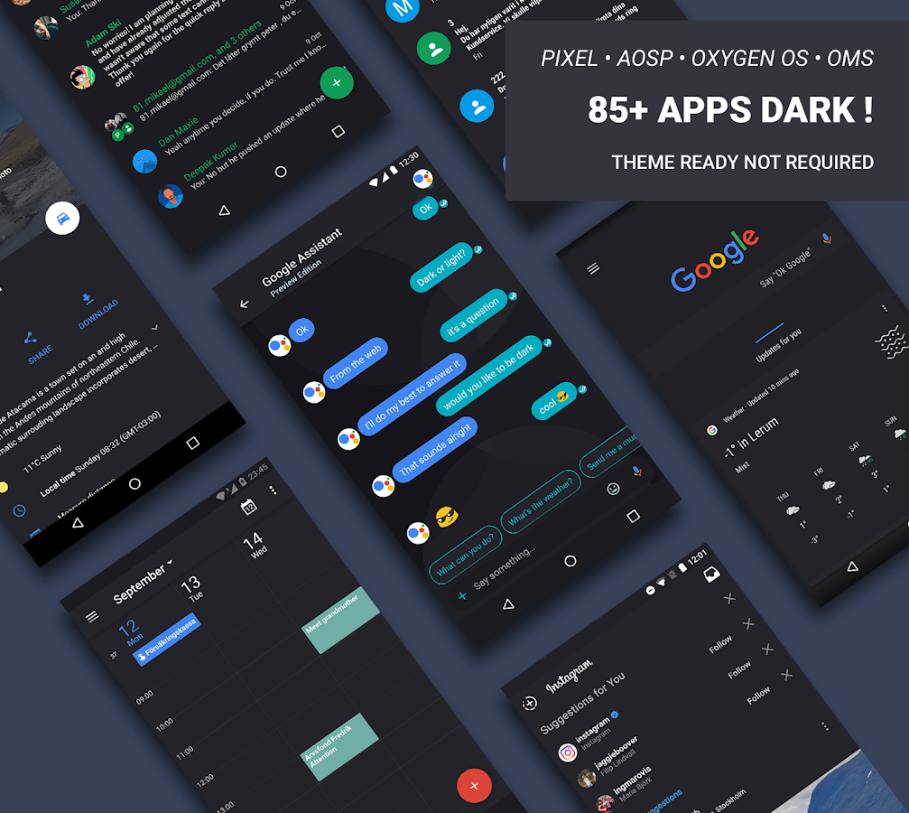 A Swift Dark Substratum Theme Screenshot 0