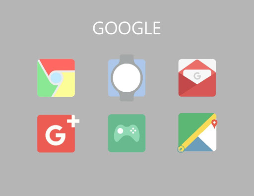 Squared Icon Pack