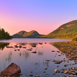 Jordan Pond at Acadia National Park by Souvik Roy - Uncategorized All Uncategorized (  )