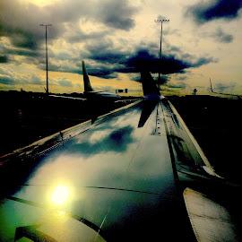 Flugzeug by Marianne Fischer - Transportation Airplanes