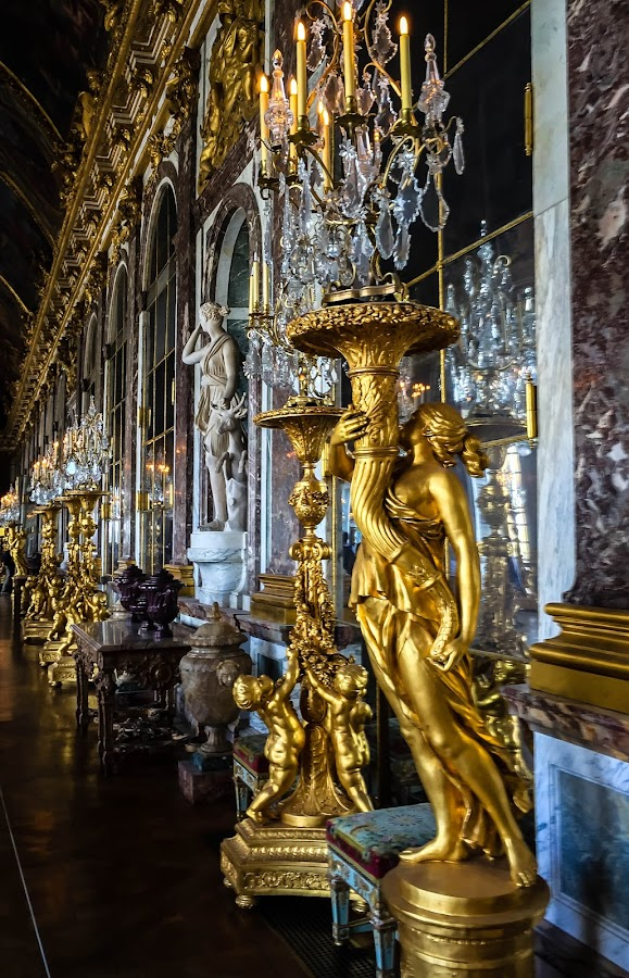 Chateau De Versailles by Mike Hotovy - Instagram & Mobile iPhone