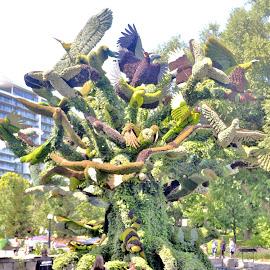 Bird Tree by Jaliya Rasaputra - Artistic Objects Other Objects